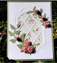 lattice and roses by jasonw1 - Cards and Paper Crafts at Splitcoaststampers