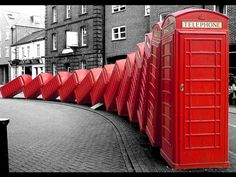 Out of Order by David Mach....