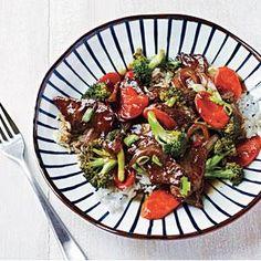 Beef and Broccoli Bowl Recipe   MyRecipes.com