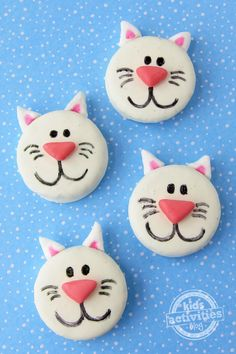 Oreo cats- what an adorable snack for our pet theme week in school!