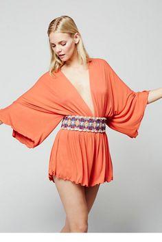 FP Beach Womens GALLOWS ROMPER - Bohemian Summer Fashion Trend 2017