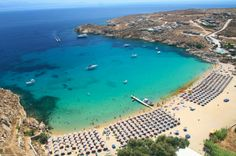 Super Paradise Beach in Mykonos
