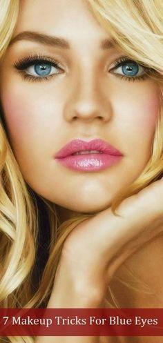 Cool makeup ideas for blue eyes Blonde hair blue eyes makeup