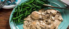 Creamy Parmesan Mushroom Chicken