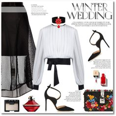 winter wedding by limass on Polyvore featuring polyvore, fashion, style, Coast, Gianvito Rossi, Dolce