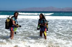 Paros is the ideal place for scuba diving enthusiasts Windsurfing, Wakeboarding, Mykonos, Santorini, Greece Islands, Paros, Rock Climbing, Horseback Riding, Water Sports