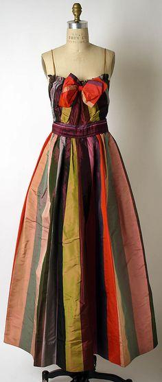 1940s Hattie Carnegie Evening dress Metropolitan Museum of Art, NY