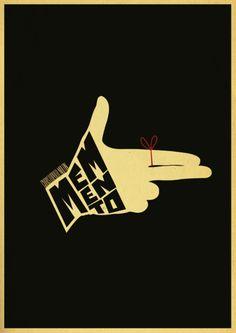 Minimal movie poster - Memento