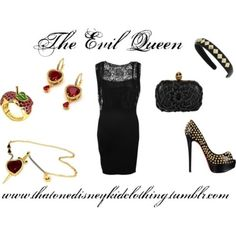 The Evil Queen Outfit<3