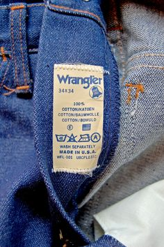 672f6d94 STUDIO ZERO JEANS & HERITAGE Vintage Jeans, Vintage Clothing, Vintage  Outfits, Wrangler Jeans