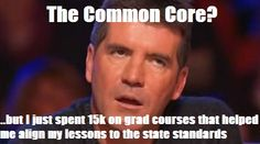 How did you feel when your school made the Common Core transition?