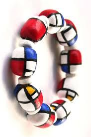 Afbeeldingsresultaat voor mondriaan pendant clay Piet Mondrian, Wassily Kandinsky, Bauhaus, Klimt, Weird Art, Art Plastique, Color Themes, Teaching Art, Pendant Jewelry