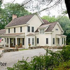 Rambling Shingle Colonial Design, Pictures, Remodel, Decor and Ideas - page 7