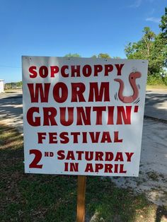 Sopchoppy Worm Grunting Festival Florida | Backroad Planet