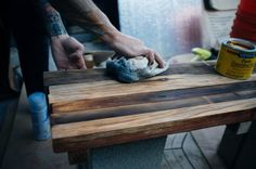 How To: Make A Simple Wooden Bench