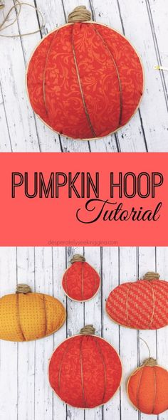 Pumpkin Hoop Tutorial
