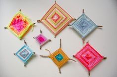 How to Weave Ojo de Dios - Wise Craft Handmade