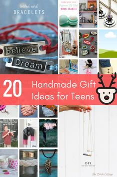 20+ Handmade Gift Ideas for Teens - The Birch Cottage
