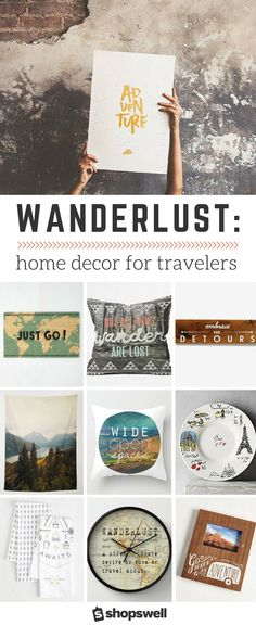 What happens when home decor meets travel? A collection emerges that satisfies even the worst wanderlust, that's what.