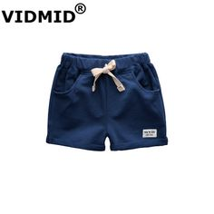 1628963dab7 VIDMID baby boys shorts trousers for boy kids shorts children s cotton  sports boys beach shorts kids boys short pants 1001 -in Shorts from Mother    Kids on ...