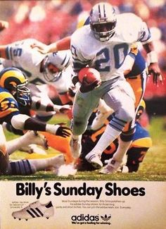 Commit Billy sims lions lick essence