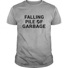 Awesome Tee Failing Pile of Garbage Journalism Shirt; Tee