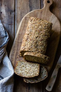 This gluten-free, vegan bread recipe uses no leavening, and it bakes up into a dense, toothsome loaf that makes killer toast. Easy peasy and über-healthy, what's not to love? My holistic chir…