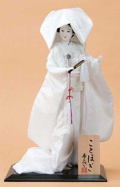 日本人形。