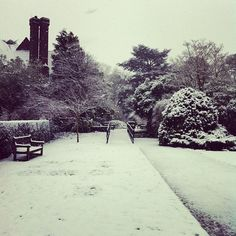 Leicester's (and my) first day of snow. Jan '13