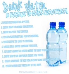 drink water #healthy #fitness #motivation Not that I need to be reminded to drink water. I already drink plenty of it. It's my drink of choice. But it's a nice reminder that I already have a healthy habit