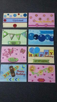 Money Holders as kids birthday presents