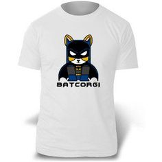 BATCORGI Tee via Corgi Apparel - Corgi T-shirts, Accessories, and More!. Click on the image to see more!