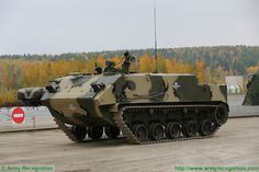 BTR-MDM airborne blindato da trasporto ibrido con pilota a bordo o con pilota in remoto