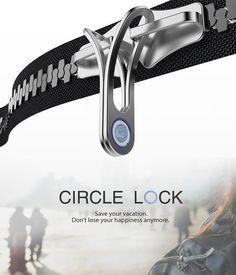 Circle Lock – Backpack Lock by Dahye Jung
