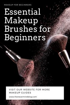 Makeup Brushes Guide for Beginners. Essential Makeup Brushes, Personalized Photo Frames, Basic Makeup, Makeup Guide, Makeup For Beginners, After Shave, Makeup Yourself, About Me Blog, Essentials