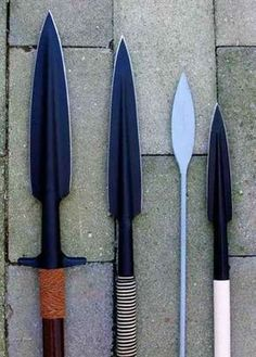 """""""That spear would have skewered a wild boar."""" So would these, or a bear, or a zombie."""