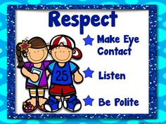 Lesson plans, activities, and anchor charts to teach kids to be kind, respectful, and polite.
