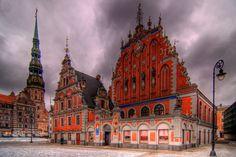 House of the Blackheads/Riga, Latvia