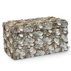 Abalone Shell Rectangular Box @Layla Grayce  #LaylaGrayce #BunnyWilliamsHome