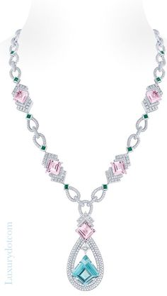 #Louis Vuitton diamonds and jewels collection  #Luxurydotcom http://fancytemplestore.com