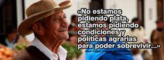 La voz del campesino en Colombia #colombia #paronacionalagropecuario