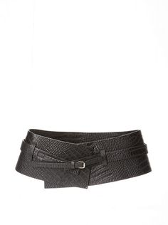 Belgo Lux Womens Hip Belt with Clear Stone Detailing