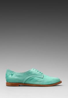 FRYE Delia Oxford in Mint at Revolve Clothing - Free Shipping!