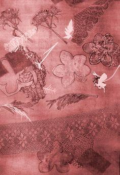 S/T 56'5 x 38 cm  Monotype Vintage World Maps, Printmaking, Art