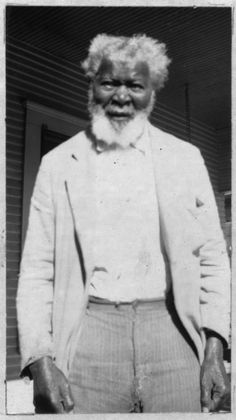 Moses Hursey, Age about 82, Dallas, Texas. Portraits ofEx-Slaves 1930's