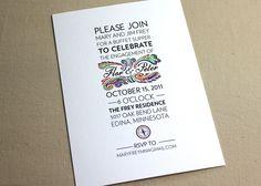 cool invitation idea!