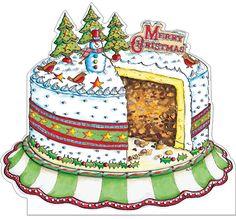 Christmas Cake (pack of Cozy Christmas, Christmas 2014, Christmas Is Coming, Christmas Goodies, All Things Christmas, Christmas Themes, Christmas Gifts, Christmas Blessings, Christmas Wishes