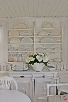 This house of Vibeke Design is amazing - love this plate rack - take the tour eclecticallyvintage.com