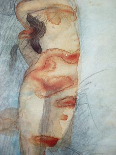 Untitled by Auguste Rodin on Curiator, the world's biggest collaborative art collection. Auguste Rodin, Rodin Drawing, Tinta China, Art Et Illustration, Renoir, Abstract Sculpture, Life Drawing, Figure Painting, Oeuvre D'art