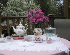 Lavender Cottage: Tea Parties in the Garden
